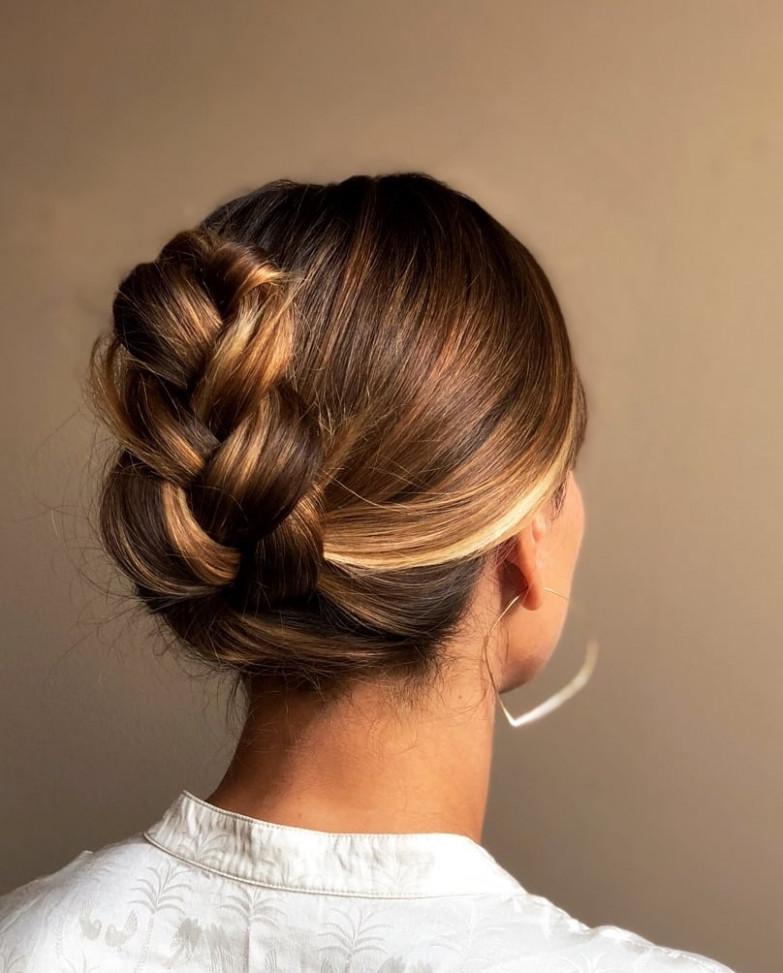 Easy French-Braid Ponytail Tuck  How-to Tutorial Photos