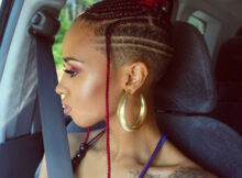 Feed In Braids With Shaved Sides/Back  Braids with shaved sides