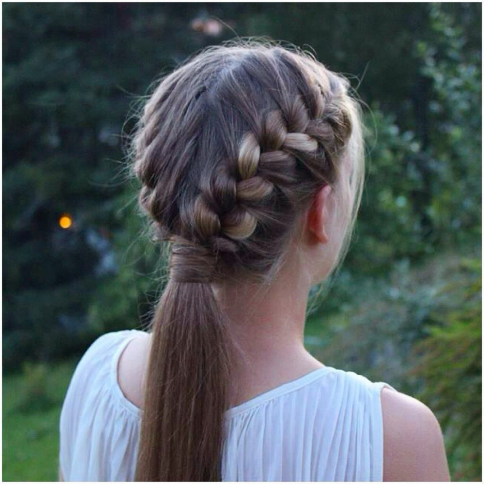 """Prettyhairstyleess on Instagram: """"Two French Braids into a"""