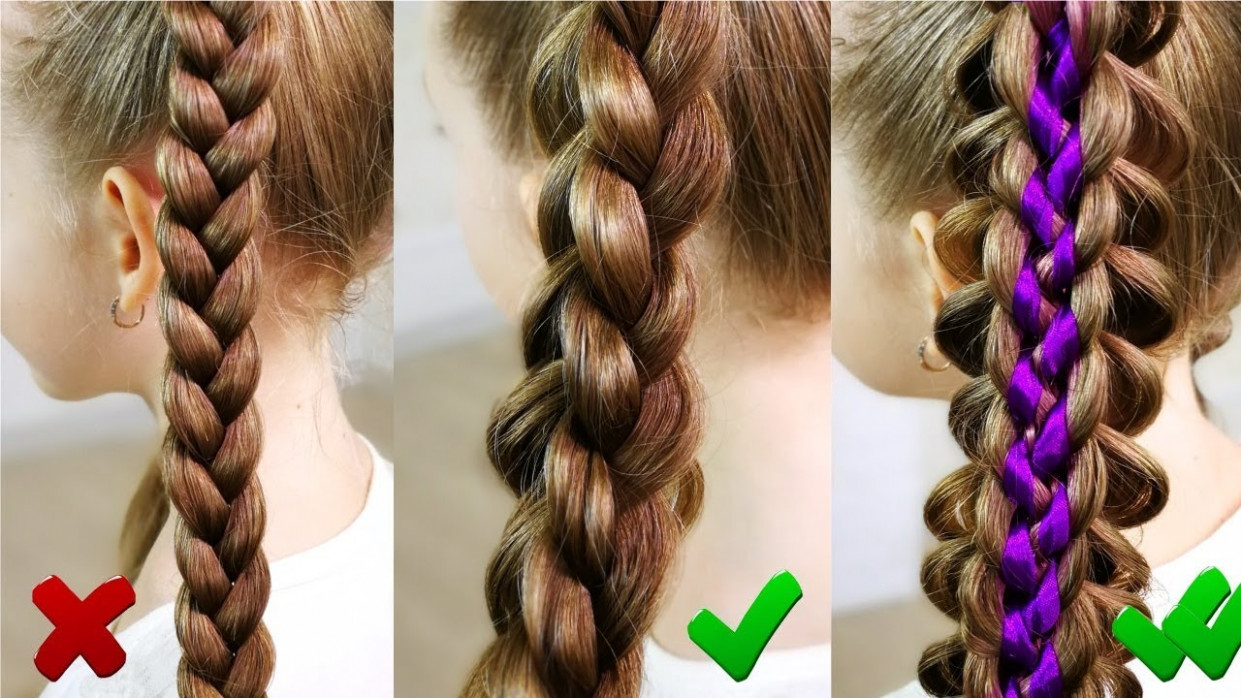 TWO EASY AND SIMPLE BRAIDS