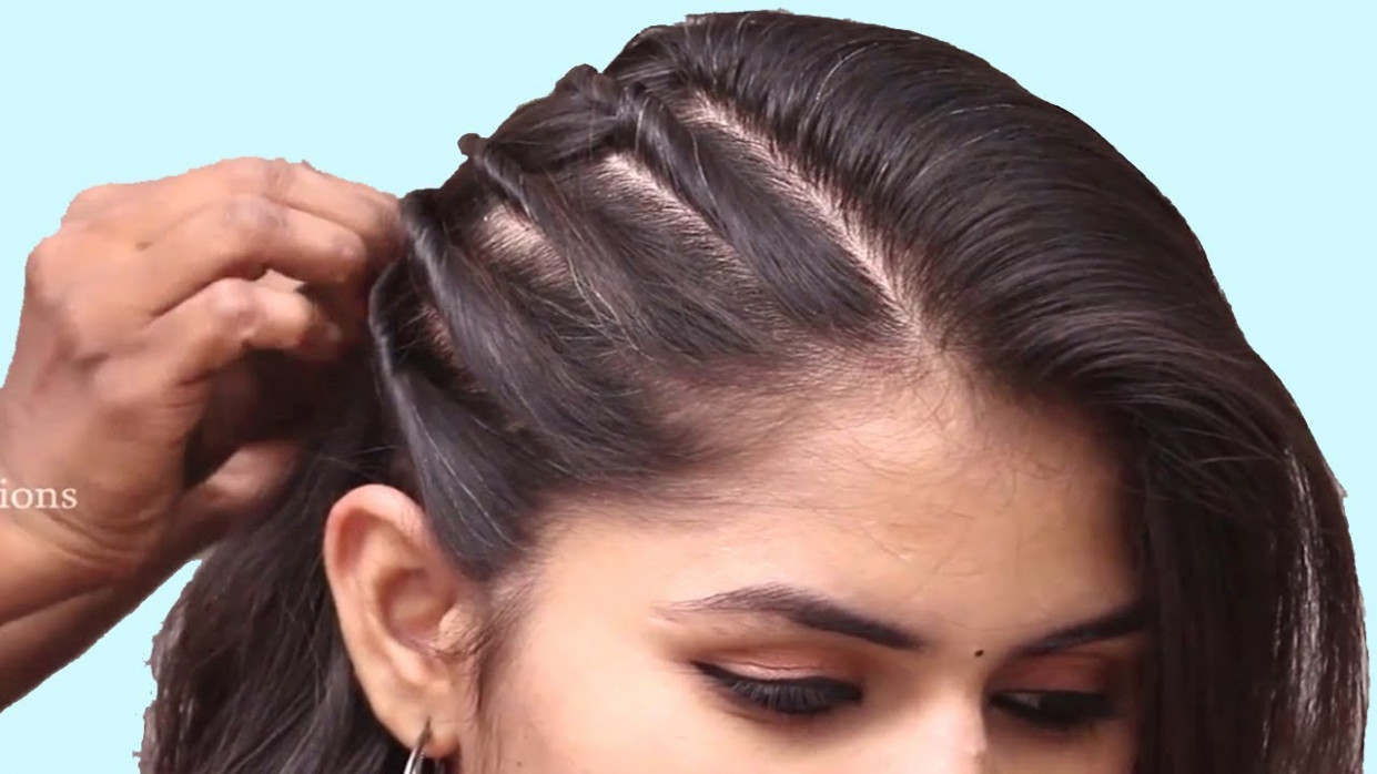 Unseen Party hairstyle 9 for girls  Hair Style Girl  hairstyles  Easy  Hairstyles for long hair