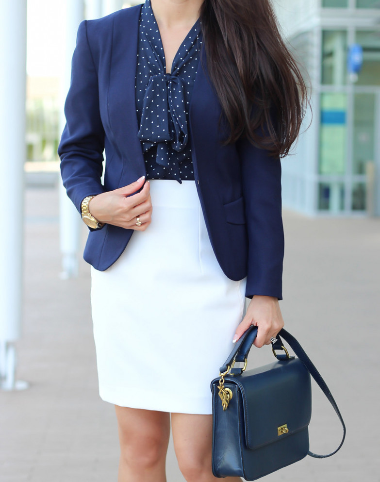 White, Navy and Gold_-10  Stylish Petite  Flickr