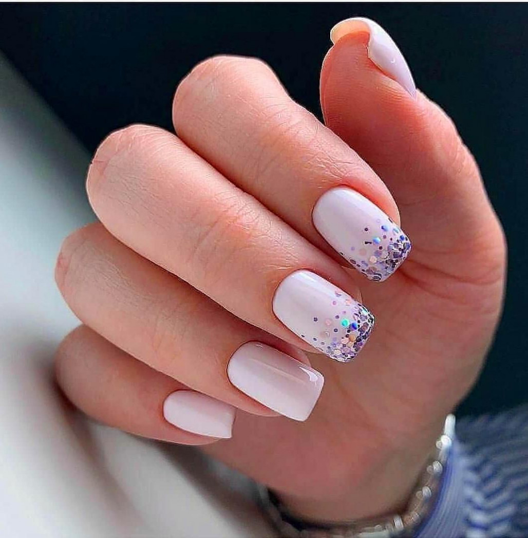 10 Simple Summer Square Acrylic Nails Designs In 10  Square