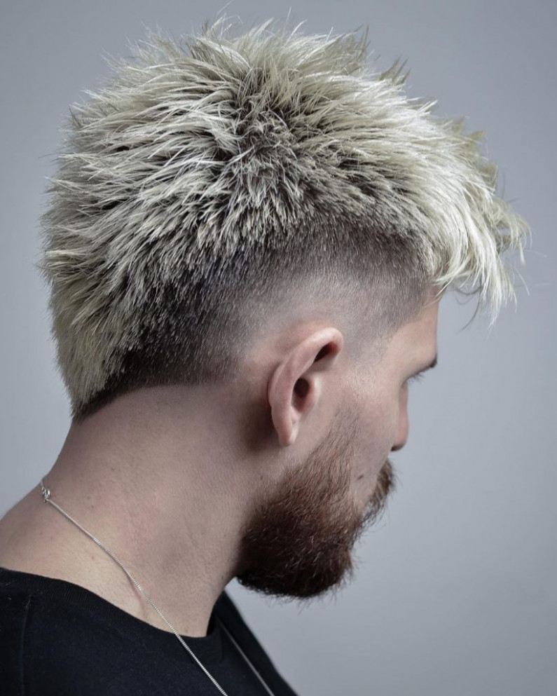 12 Best Mohawk Fade Haircuts For Men That Are Totally Cool
