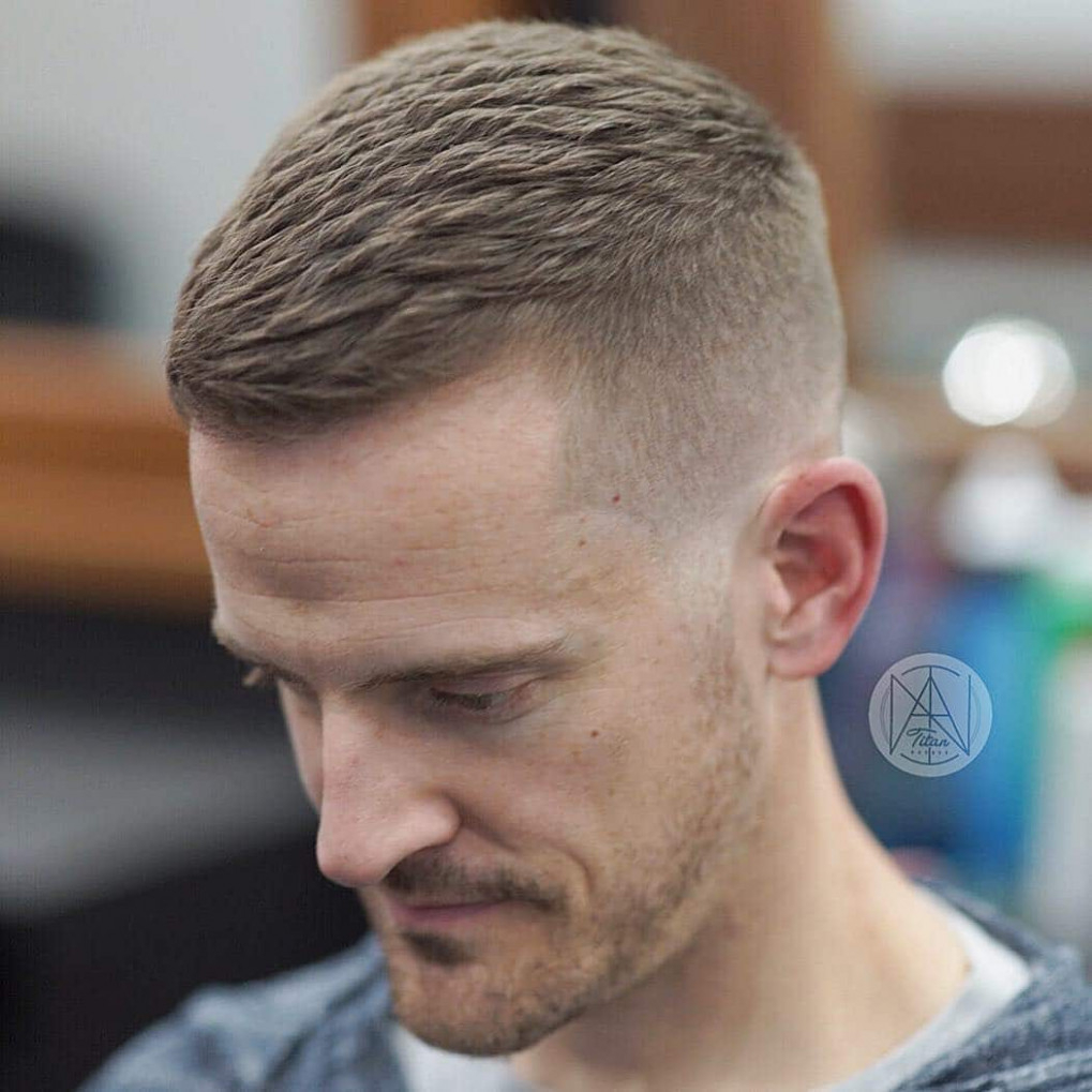 12+ Short Haircuts For Men -> Fresh Styles For October 12