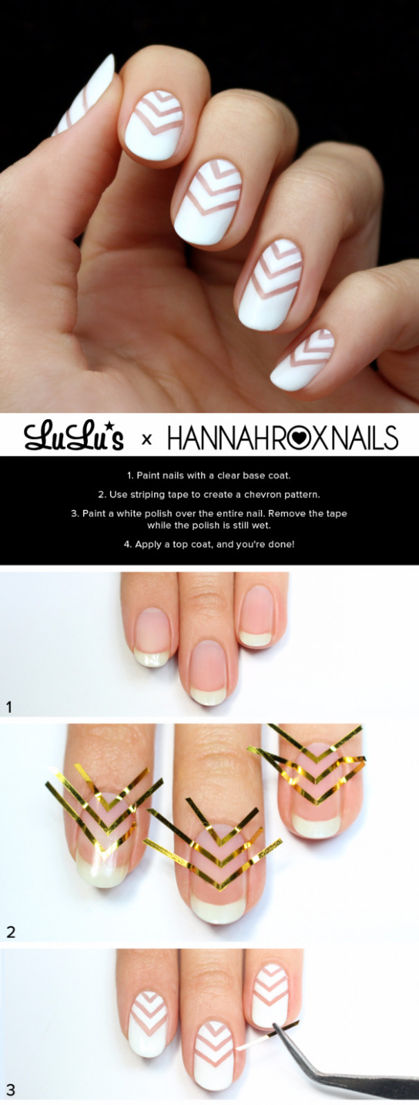8 Brilliantly Creative Nail Art Patterns - DIY Projects for Teens