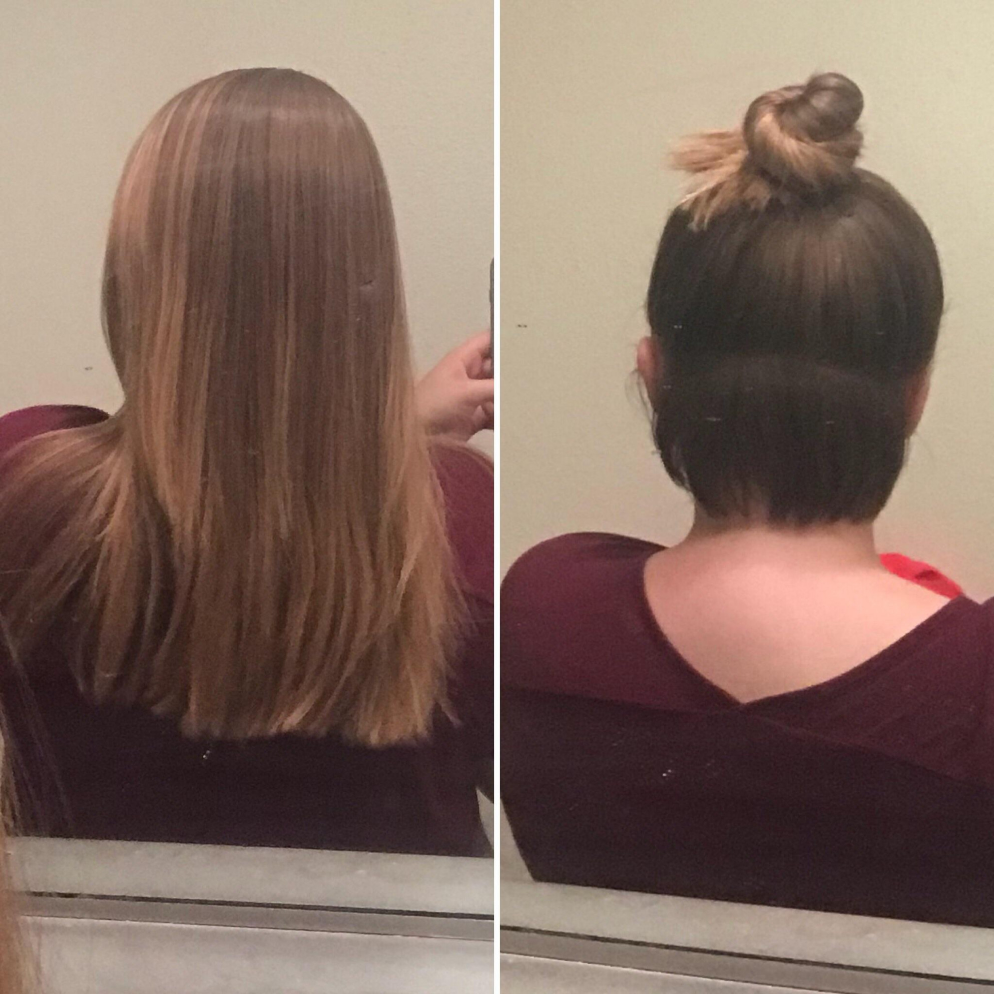 Anybody have any advice for styles while growing out a nape
