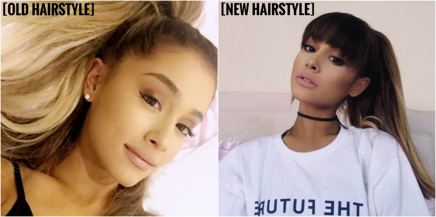 Ariana Grande Gets a New Hairstyle – aGOODoutfit