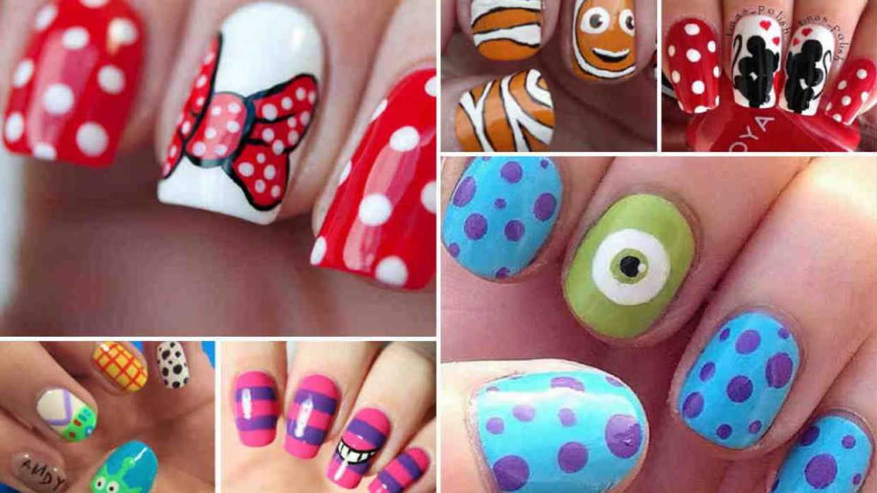 Create a Fairytale Look With 10 Fun and Easy Ideas For Disney Nails