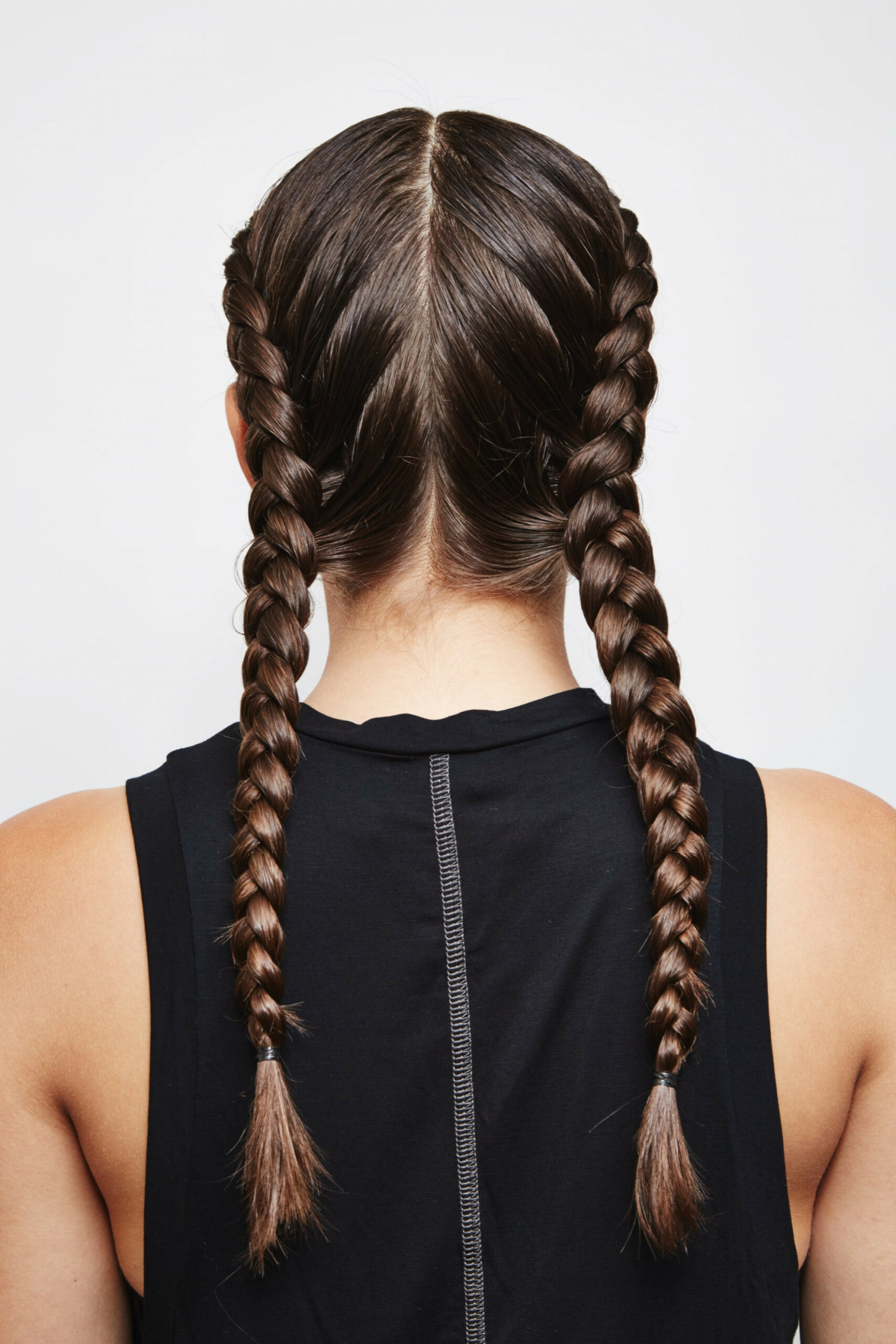 How to Do Double Dutch Braids Hairstyle on Yourself  POPSUGAR Beauty