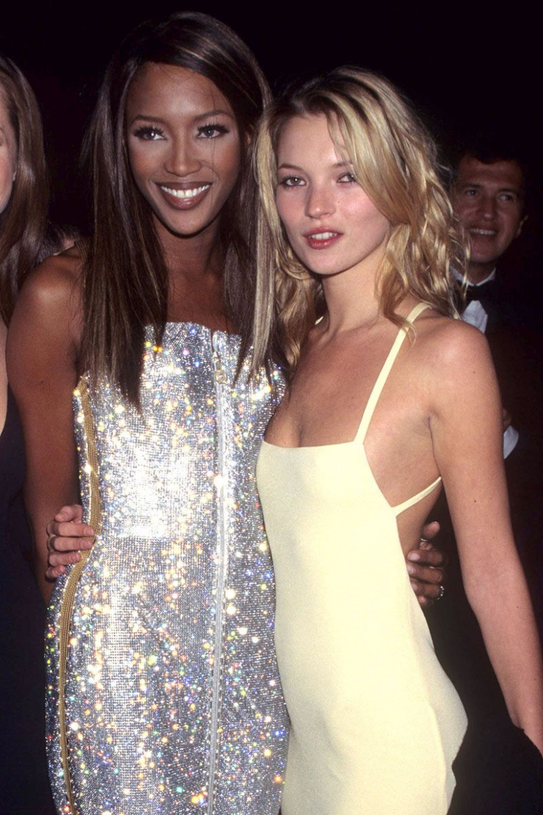 Naomi Campbell and Kate Moss In The 12s - Naomi Campbell and