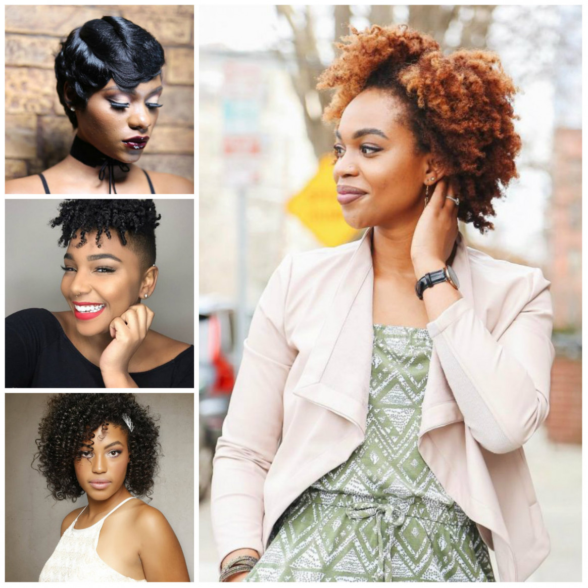 New Short Hairstyles for Black Women in 12  12 Haircuts  - Short Hairstyles 2018 Black