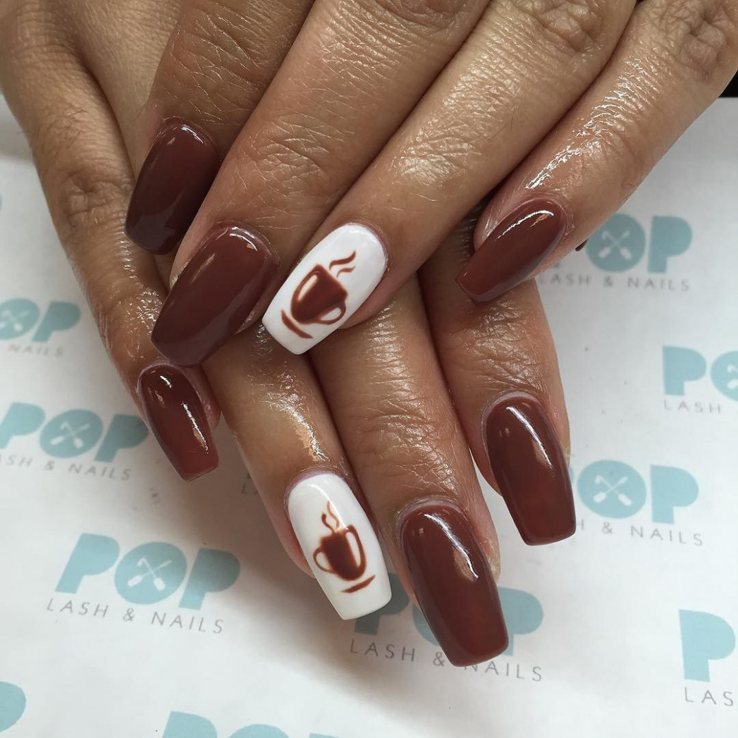 """PoP Lash & Nails on Instagram: """"Coffee Bean Lover or we call"""